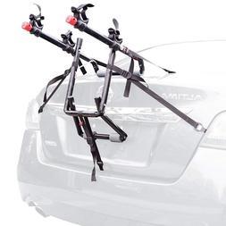 Bike Rack For Car Trunk Mount 2 Two Bicycle Carrier Sedan Ha