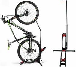 Bike Rack Upright Storage Stand Adjustable Bicycle Carrier F