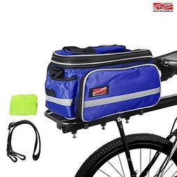 Arltb Bike Rear Bag  20 - 35L Waterproof Bicycle Trunk Bag w