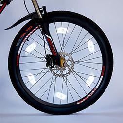 Willceal Bike Spoke Light 6PCS, Bike Wheel Light,Tyre Wire R