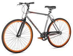 Bike Takara Sugiyama Flat Bar Fixie Bike Gray/Orange Small/5