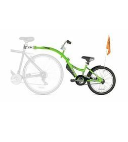 Bike Trailer Child Tandem Seat WeeRide CoPilot Green parent