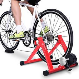 Bike Trainer Stand - Sportneer Steel Bicycle Exercise Magnet