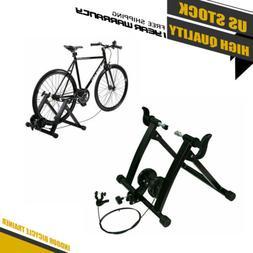 Bike Trainer Stand Portable Steel Bicycle Indoor Exercise Bi