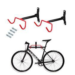 Voilamart 2pcs Bike Wall Mount Hanger - Indoor Storage Rack,
