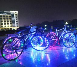 Bike Wheel Lights 20 Bright LED String for Safe Night /Rain