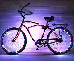 Bike Wheel Lights Colorful Accessory For Perfect Burning Man