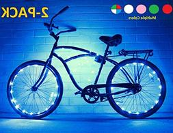 Bike Wheel Lights - Colorful Accessory For Perfect Burning M