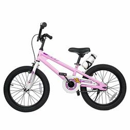 Bikes for Boys Girls BMX Freestyle 18 Inch White Training Wh