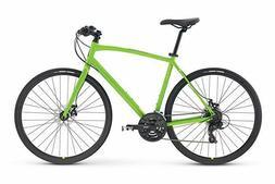 Raleigh Bikes Cadent 2 Fitness Hybrid Bike, Green, 19 / LG