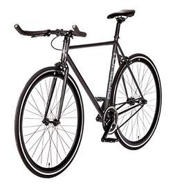 Big Shot Bikes   Dublin Black   Fixie Track Bike   Single Sp