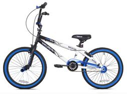 Bikes for Boys 20 Inch BMX Kent Boy Bicycle Blue Bike Kid Ch
