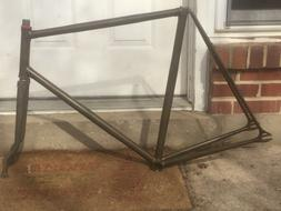 Bishop built Reynolds Bates Cantiflex track/piste frame and