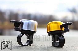 New Black Mini Bicycle Bike Cycling Handlebar Bell Horn Ring