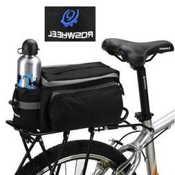 TOOGOO Black Multi-functional Bicycle Rear Seat Trunk Bag Sh