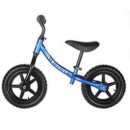 Blue Balance Bike for Kids & Toddlers - Boys & Girls Self Ba