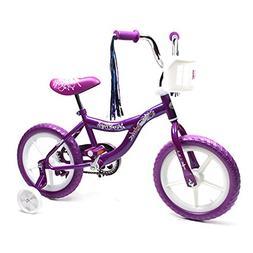 ChromeWheels Kids Bike for Girls with Training & EVA Wheels,