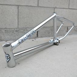 VOLUME BMX BIKE VESSEL BICYCLE FRAME CHROME BROC RAIFORD ODY