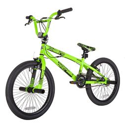 Bmx Bikes For Boys Freestye 20 Inch Green 1 Speed Men Steel