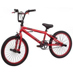 Bmx Bikes For Boys Girls 20 Inch Red Steel Frame Durable 1 S