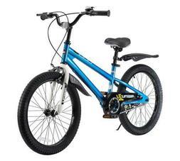 RoyalBaby BMX Freestyle Kid's Bike, 20 inch wheels, Blue