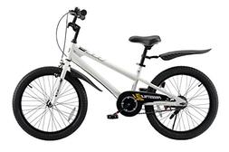 Royalbaby BMX Freestyle Kid's Bike, 20 inch Wheels, White