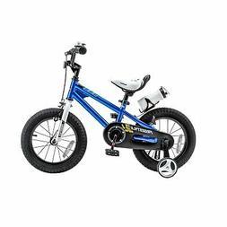 RoyalBaby BMX Freestyle Steel 14-inch Kids' Bike with Traini