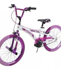 Huffy BMX Girls Bike Jazzmin 20 Inch Metallic Purple 23099 N