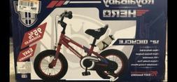 Royalbaby BMX HERO Kids Bike 12 inch wheels Removable Traini