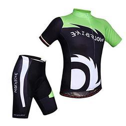 WOSAWE Brand Professional BMX Jersey and Pants Man Cycling S