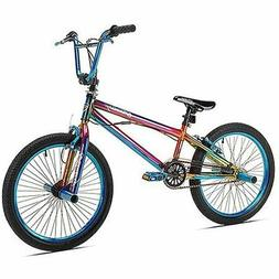 BMX Pro Bike 20 in. Kent Fantasy Freestyle Bicycle Steel Fra