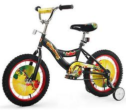 "Boys 16"" Bicycle Bike with Removable Training Wheels For K"
