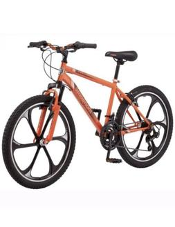 Boy's Mongoose Alert Mag Wheel mountain bike, 24-inch whee