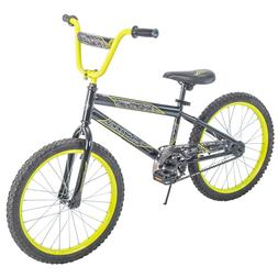 Boys Bike 20 Boy Bicycle Kids Steel Frame Child 1 Speed Blac