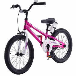 Boys Girls 18'' Kids Bike With Caliper Brake and Rear Coaste