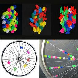 Boys Girls Children Bike Bicycle Wheel Spoke Beads Clip Colo