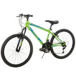 Huffy Boys Mountain Bike 24 inch 18 Speed Alpine, NEW