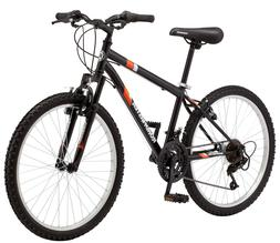 "Boys Mountain Bike 24"" Inch Roadmaster Granite Peak Bicycle"