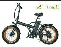BPM F-15S  750W 13AH Top Quality Fat Tire 48v Electric Bicyc