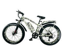 BPM F55 750W 13AH 48V 26' FAT TIRE ELECTRIC BIKE BICYCLE RAC