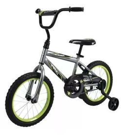 "Brand New Huffy 16"" Rock It Kids EZ Build Bike for Boys, Gre"