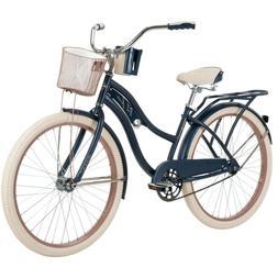 "Brand New Huffy 26"" Nel Lusso Women's Beach Cruiser Bike, Bl"