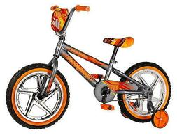 """brand new Mongoose Boys Skid Bicycle with 16"""" Wheels, Grey"""