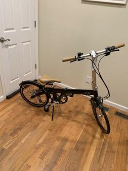 Brand New Mini Cooper Foldable Bike- Black
