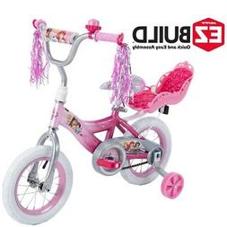 "Brand new Disney Princess 12"" Girls' kids EZ Build Pink Bike"