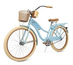 Brand New Huffy Nel Lusso Women's Cruiser Bike Blue
