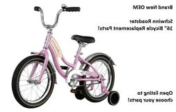 """Schwinn Roadster 16/"""" PINK Bicycle Replacement Parts Open to choose your part!"""