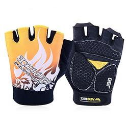 New Breathable Cycling Gloves Bike Bicycle Sports GEL Pad Ha