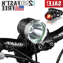 Night Eyes-Brightest 1200 Lumens Rechargeable Bike Light, Mo