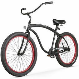 Firmstrong Bruiser 3.0 Man Single Speed Beach Cruiser Bicycl